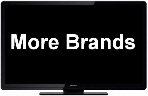 More HDTV Brands