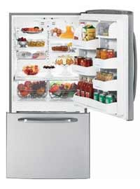 pic of bottom mount refrigerator