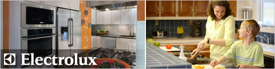Electrolux appliances offer a wide variety of appliances from