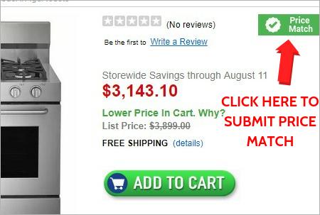 110% Low Price Match Guarantee