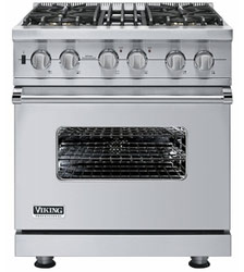 pic of commercial style gas range