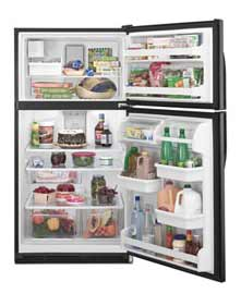 pic of top mount refrigerator